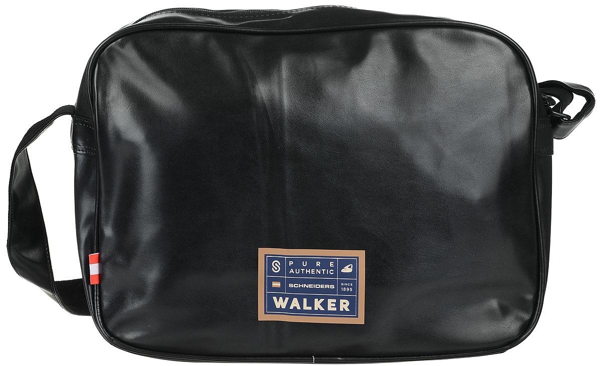 Walker Сумка школьная Square42259/80Прочная и вместительная школьная сумка Walker Square станет надежным спутником для школьников и студентов. Она выполнена из прочного износостойкого материала высокого качества и оформлена оригинальным принтом. Сумка имеет два отделения: внешнее и внутреннее, которые закрываются на застежки-молнии. Внутри главного отделения расположены два небольших кармашка для различных школьных принадлежностей. Сумка имеет наплечный ремень с регулирующейся лямкой.