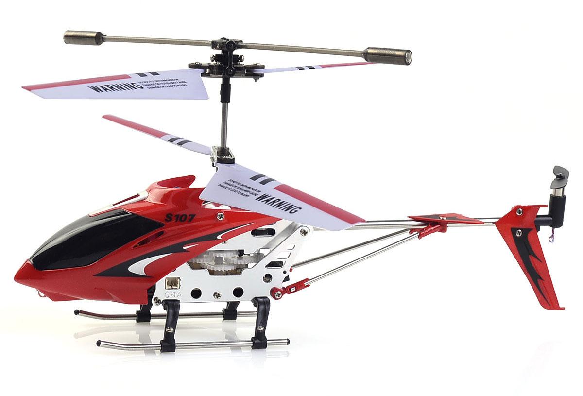 Syma Вертолет на радиоуправлении S107G цвет красный