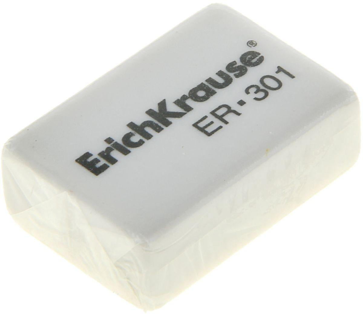 Erich Krause Ластик 30134650_желтый, зеленыйЛастик аккуратно стирает тонкие линии, оставленные карандашами. Не оставляет следов на бумаге.
