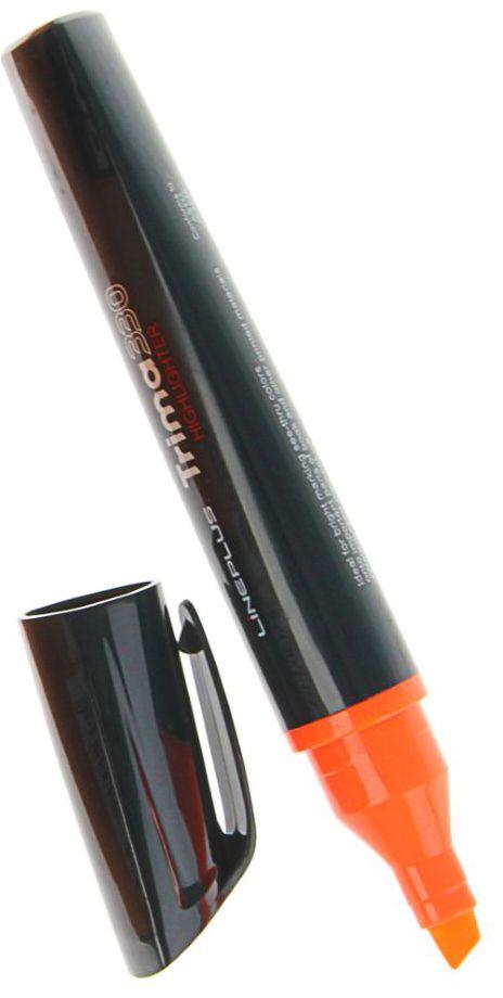 Line Plus Маркер Trima цвет оранжевый72523WDТекстовыделитель Trima33 в новом уникальном трехгранном корпусе.Оригинальная форма привлекает внимание, а яркая линия письма позволяет выделять текст без особых усилий.