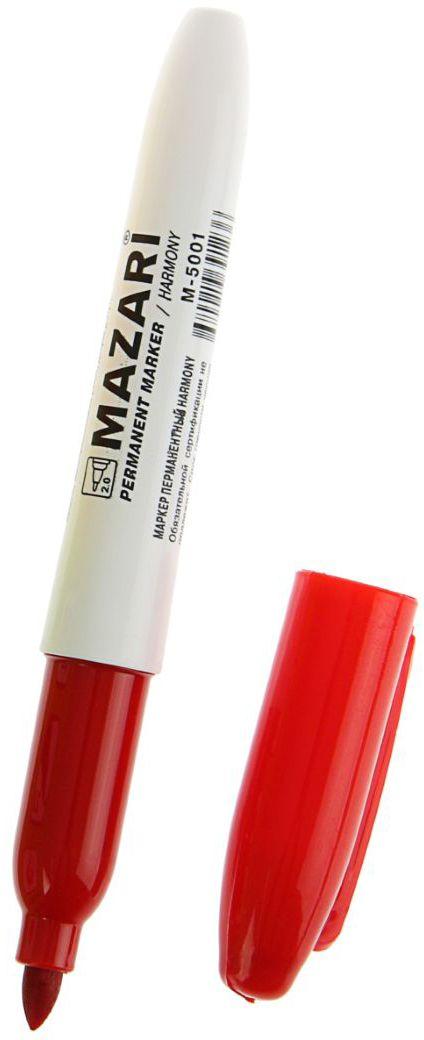 Mazari Маркер перманентный Harmony цвет красный1975684