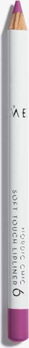 Lumene Nordic Chic Мягкий карандаш для губ №06NL073-85876Мягкий карандаш для губ отлично подойдет для создания четкого и насыщенного контура или в виде праймера. Карандаш надежно фиксирует губную помаду в течение всего дня.