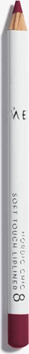 Lumene Nordic Chic Мягкий карандаш для губ №08NL073-85878Мягкий карандаш для губ отлично подойдет для создания четкого и насыщенного контура или в виде праймера. Карандаш надежно фиксирует губную помаду в течение всего дня.