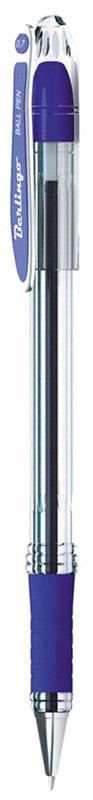 Berlingo Ручка шариковая I-15 цвет синийCBp_70012Шариковая ручка Berlingo I-15 с высококачественными чернилами обеспечивает ровное письмо. Шариковая ручка Berlingo c колпачком в цвет чернил и пластиковым клипом. Мягкий резиновый грип в зоне захвата препятствует скольжению пальцев при письме. Прозрачный корпус позволяет контролировать расход чернил. Цвет чернил - синий. Качественные чернила на масляной основе обеспечивают мягкое и комфортное письмо. Диаметр пишущего узла - 0,7 мм.