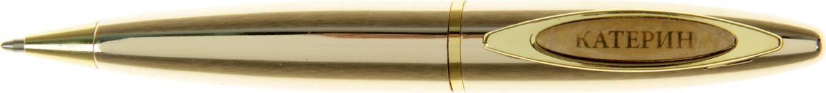 Ручка шариковая Екатерина синяя 4176597710894Ручка в коробке Екатерина - это не только качественная и удобная письменная принадлежность, но и яркий оригинальный аксессуар для прекрасных и обворожительных дам. Такой подарок оценит каждая представительница прекрасного пола, ведь он будет предназначаться именно ей! Корпус ручки, выполненный в золотом цвете, выгодно подчеркнет любой образ. Благодаря поворотному механизму вы ни за что не оставите на одежде чернильное пятно и сможете всегда носить ее с собой!