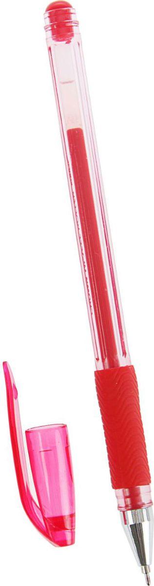 Crown Ручка гелевая HJR-500RN красная2269011