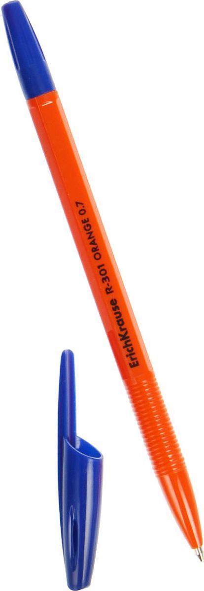 Erich Krause Ручка шариковая R-301 Orange Stick EK синяя 50 шт2288910