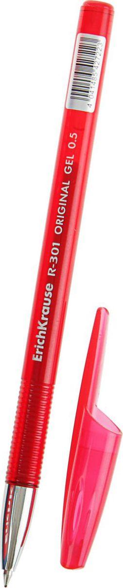 Erich Krause Ручка гелевая R-301 Original Gel EK красная72523WDРучка гелевая Erich Krause R-301 Original Gel EK - удобная гелевая ручка, поможет организовать ваше рабочее пространство и время. Изделия данной категории необходимы любому человеку независимо от рода его деятельности.