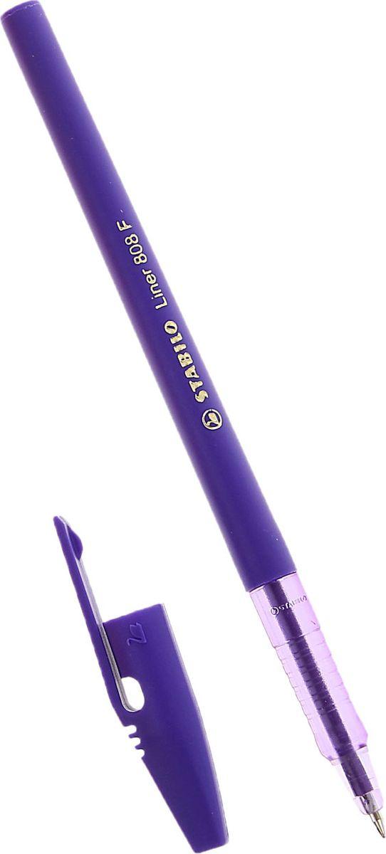 Stabilo Ручка шариковая Liner 808 фиолетовая1060341