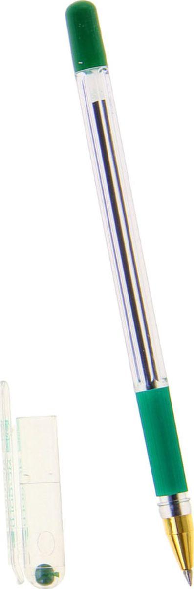 MunHwa Ручка шариковая MC Gold зеленая72523WDБезупречная конструкция пишущего узла отработана до совершенства. Тонкий шарик гарантирует качественное изящное письмо. Чернила на масляной основе обеспечивают мягкое ровное письмо и уверенное скольжение по бумаге. Ручка состоит из легкого пластикового корпуса с металлическим наконечником и мягким антискользящим резиновым упором для пальцев.