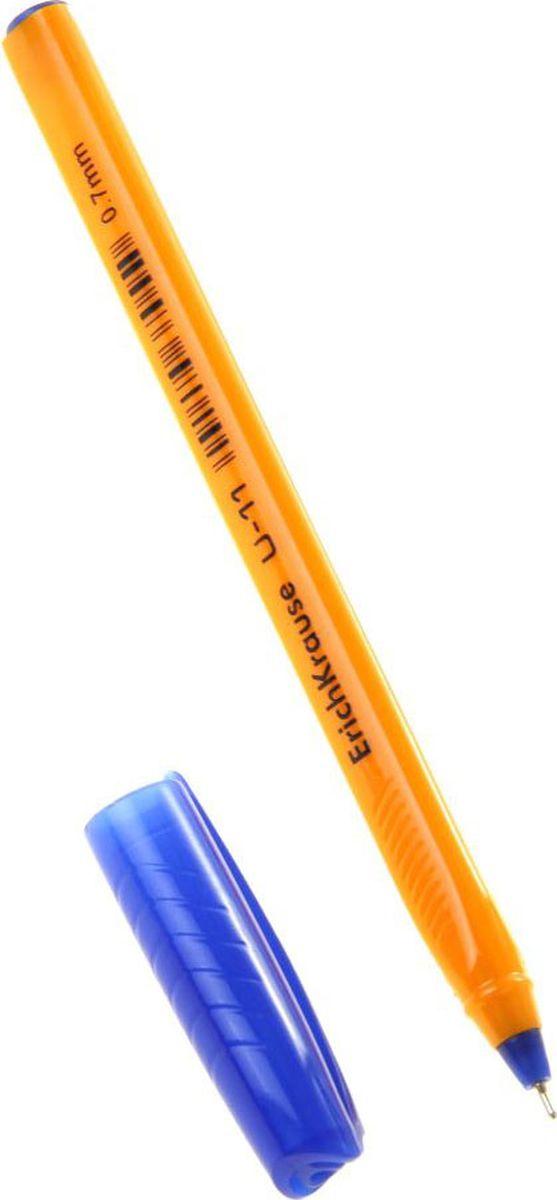 Erich Krause Ручка шариковая U-11 Yellow EK синяя1161096
