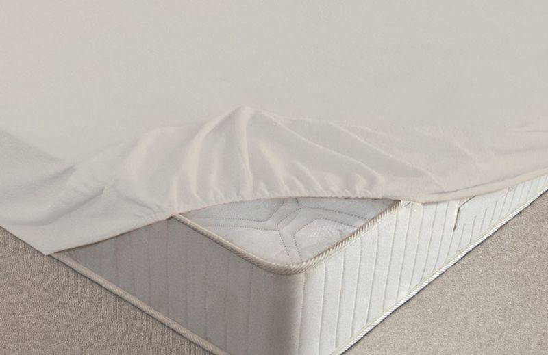 Простыня на резинке Ecotex, махровая, цвет: молочный, 200 х 200 смПРМ20 молочныйМахровые простыни на резинке сшиты из высококачественного махрового полотна, окрашены стойкими экологически безопасными красителями. Они уже успели завоевать признание потребителей благодаря своим практичным характеристикам. Имеют резинку по всему периметру, что даёт возможность надежно зафиксировать простыню на матрасе, тем самым создавая здоровый и комфортный сон. Натяжные махровые простыни довольно практичны, т.к. махровое полотно долговечно. Выолнены из 100% хлопка и не содержат синтетических добавок.