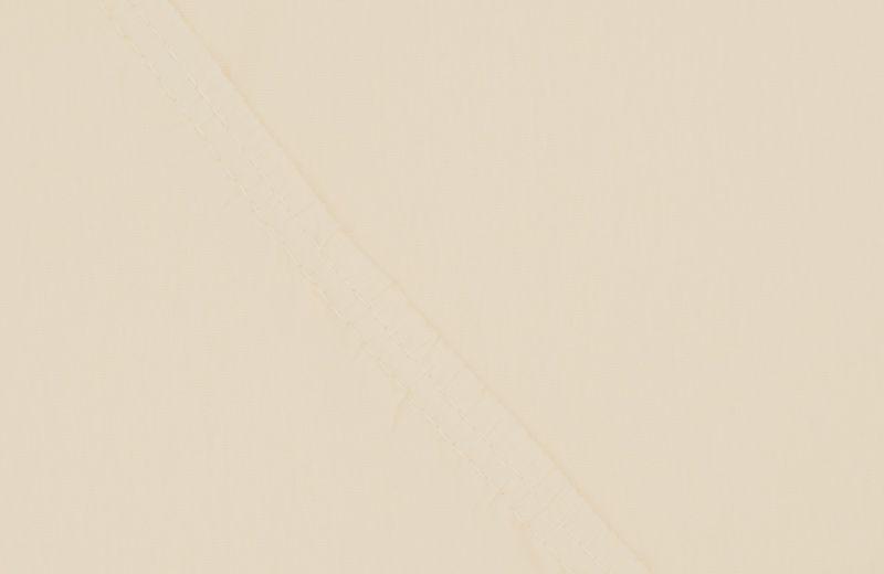Простыня на резинке Ecotex Поплин, цвет: бежевый, 200 х 200 смПРРП20 бежевыйПростыня на резинке по всему периметру – это очень удобно! Она всегда ровно, без единой морщинки, застилает матрас. Легко заправляется и фиксируется с помощью «юбки» с резинкой по всему периметру. Нежное прикосновение к телу бархатного на ощупь хлопка, мягкая фактура ткани – вот основное преимущество трикотажных простыней на резинке. Они практичны в уходе, не требуют глажения после стирки, мягкие, экологичные, защищают матрас от загрязнений.