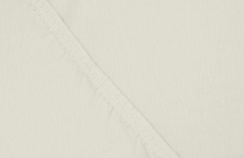 Простыня на резинке Ecotex, цвет: слоновая кость, 160 х 200 см12245Здоровый сон – залог хорошего самочувствия на протяжении всего дня. Простыня на резинке по всему периметру – это очень удобно! Она всегда ровно, без единой морщинки, застилает матрас. Легко заправляется и фиксируется с помощью «юбки» с резинкой по всему периметру. Нежное прикосновение к телу бархатного на ощупь хлопка, мягкая фактура ткани – вот основное преимущество трикотажных простыней на резинке. Они практичны в уходе, не требуют глажения после стирки, мягкие, экологичные, защищают матрас от загрязнений.
