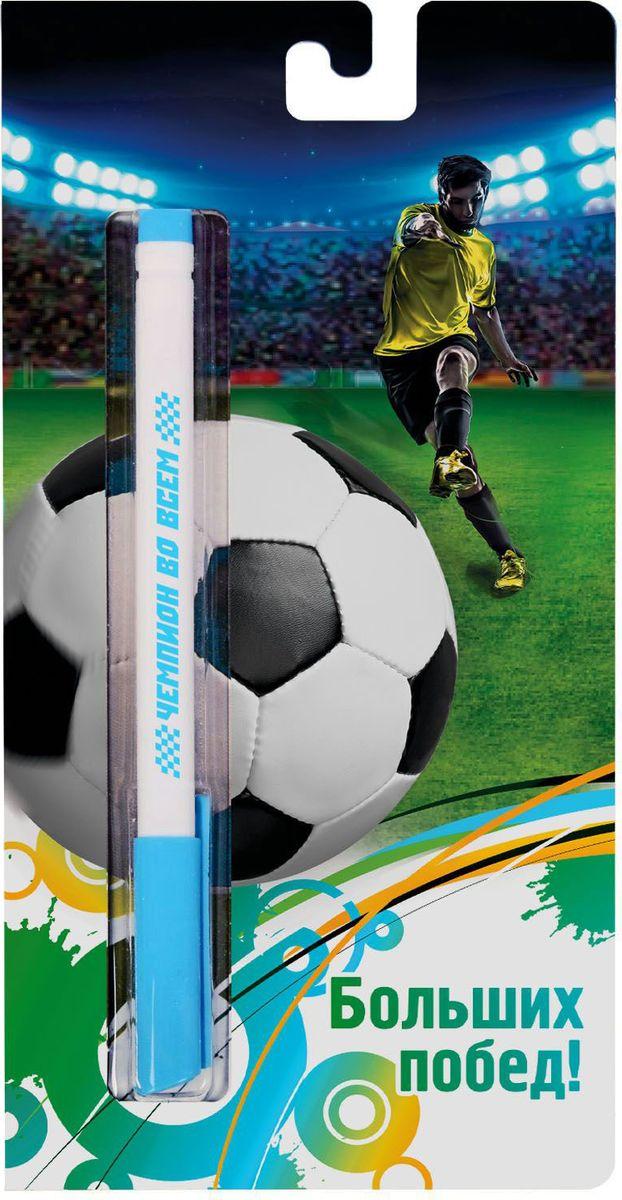 Ручка шариковая Больших побед на открытке синяя610842Эта ручка сочетает в себе интересный дизайн и современный материал! Она удобна в использовании: густые чернила не расплываются на бумаге и не вытекают при переноске, а яркое индивидуальное оформление радует глаз. Преимущества: картонная подложка-открытка индивидуальный дизайн пластиковый чехол-упаковка.