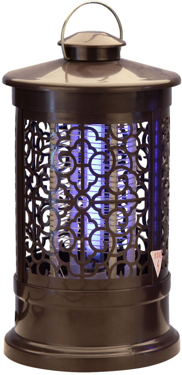 Лампа антимоскитная Proffi Home, цвет: коричневый, 3Вт, 13,5 х 13,5 х 24 смPH5862Материал: пластик. Размеры: 13,5x13,5 см, высота 24 см. Вес Нетто: 0,33 кг. Вес Брутто: 0,44 кг. Мощность 3W.