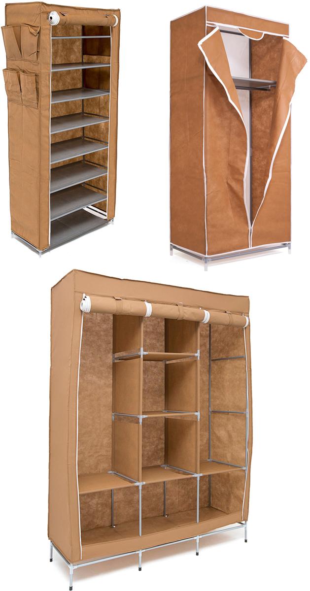 Набор кофров для хранения Homsu, универсальный, цвет: коричневый, 3 штDEN-62Уникальный дизайн этого комплекта станет настоящим украшением для любого интерьера. Практичная составляющая подобной мебели также вне сомнений. Лёгкие и прочные устойчивые конструкции из каркасов и тканевой обивки могут быть легко собраны вами без посторонней помощи, буквально за несколько минут. Такая мебель будет всегда удобной и максимально практичной, ведь верхнюю тканевую часть при надобности можно всегда постирать либо же попросту поменять на аналогичную другого цвета. Кроме того, такие конструкции всегда будут отличным решением для того, кому по душе мобильность и постоянная смена обстановки. 1300х450х1720; 680х450х1550; 600х300х1360