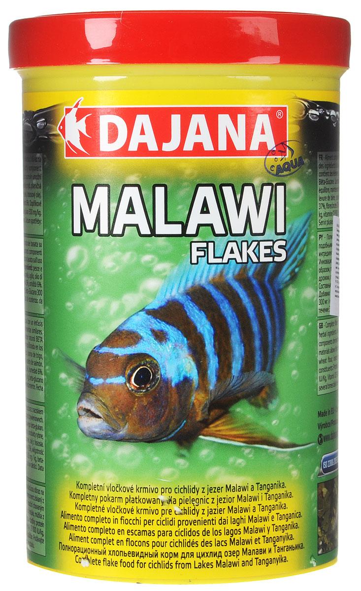 Корм для рыб Dajana Malawi Flakes, для цихлид озер Малави и Танганьика, 1 л (200 г)0120710Корм для рыб Dajana Malawi Flakes - полнорационный хлопьевидный корм для цихлид озер Малави и Танганьика, а также других видов рыб с подобными требованиями. Компонентный состав включает в себя комплекс сбалансированных растительных ингредиентов, компонентов, полученных из насекомых и рыб, а также натуральный стимулятор BETA-глюкан. Инновационная структура используемого сырья позволяет кормить рыбу сбалансированными кормами и, таким образом, поддерживать необходимую жизненную силу.Товар сертифицирован.