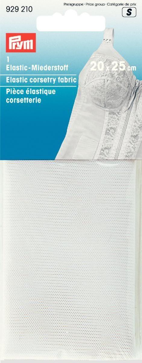 Материал для корсажа Prym, эластичный, цвет: белый, 20 х 25 см929210
