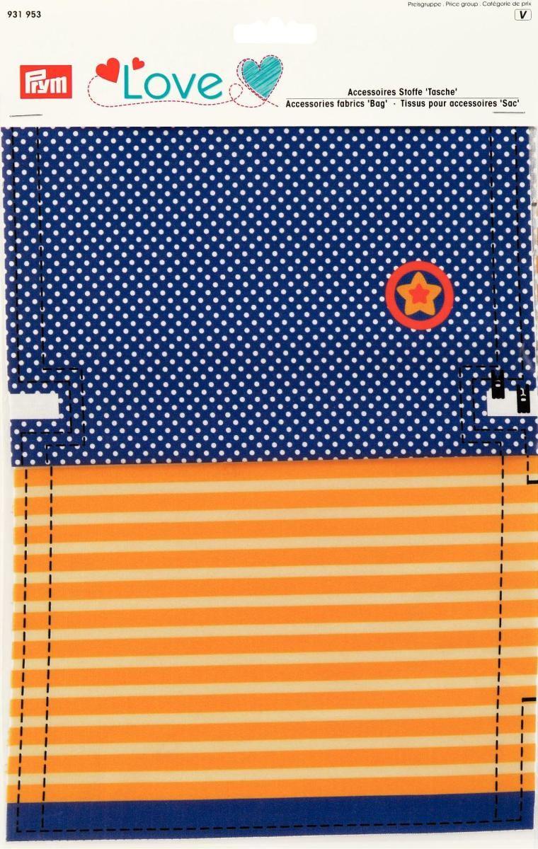 Ткань для изготовления сумочки Prym Love. Звезда, 21 х 30 см, 2 шт931953