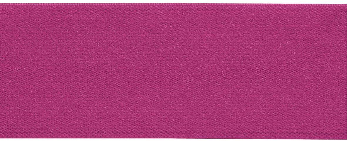 Лента-пояс эластичная Prym, цвет: ярко-розовый, 38 мм, 10 м957400