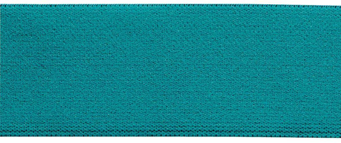 Лента-пояс эластичная Prym, цвет: бирюзовый, 38 мм, 10 м957406