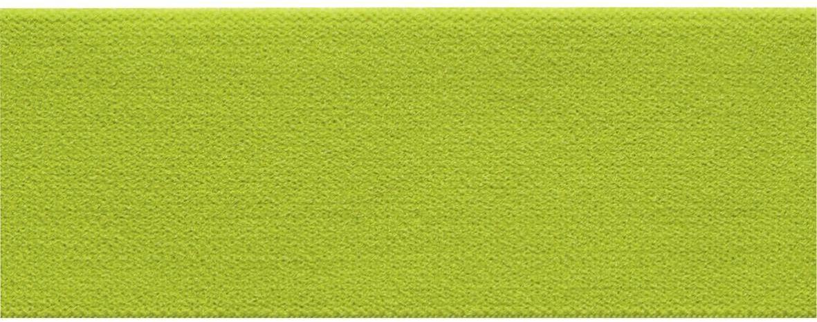 Лента-пояс эластичная Prym, цвет: зеленый лимон, 38 мм, 10 м957407