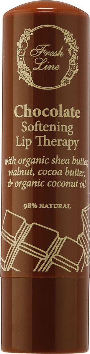 Fresh Line Бальзам для губ Шоколад, 5,4 г 910956