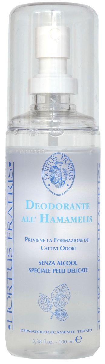 Hortus Fratris спрей-дезодорант с экстрактом гамамелиса, 100 мл 14105