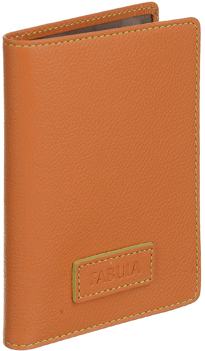 """Бумажник водителя женский Fabula """"Ultra"""", цвет: оранжевый. BV.75.FP"""
