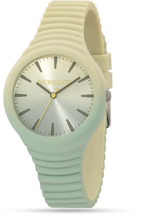 Наручные часы женские Morellato, цвет: светло-зеленый. R0151114592R0151114592Наручные часы Morellato, корпус и задняя крышка из стали