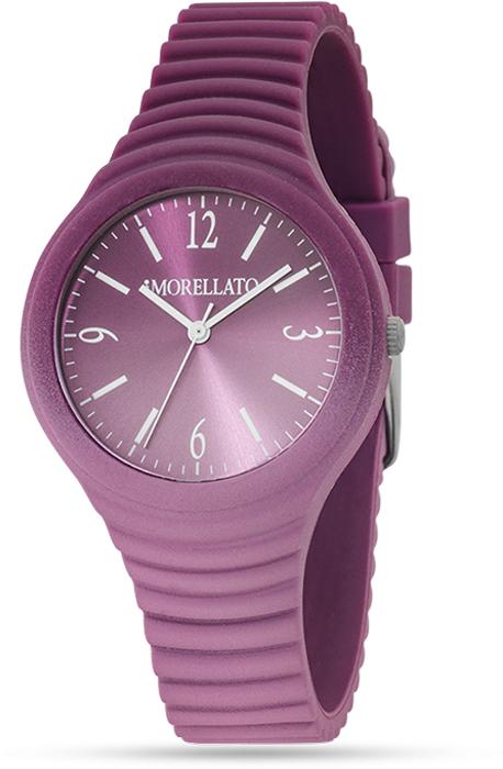 Наручные часы женские Morellato, цвет: сиреневый. R0151114595BM8434-58AEНаручные часы Morellato, корпус и задняя крышка из стали