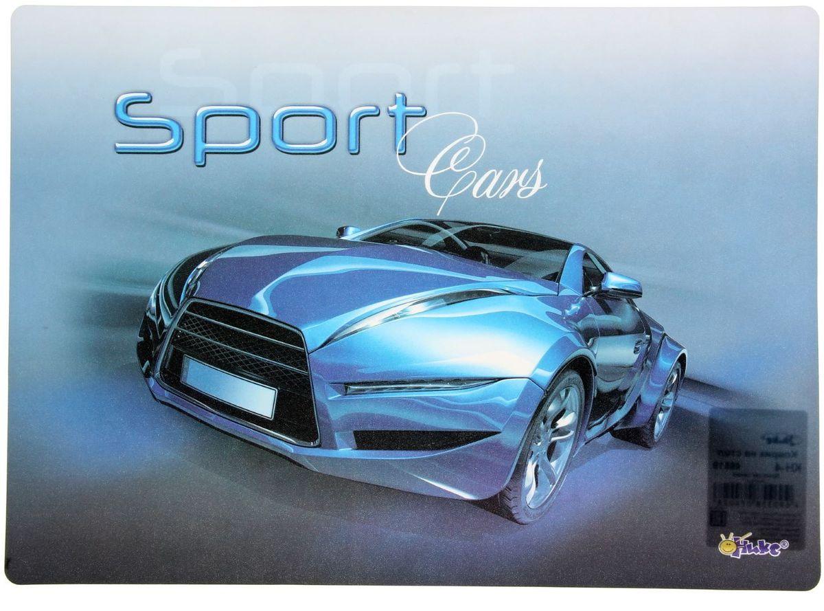 Оникс Настольное покрытие Sport Car цвет синий 33,9 х 22,4 см 1383506