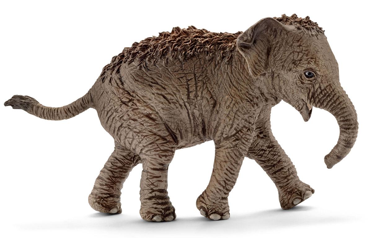 Schleich Фигурка Азиатский слон детеныш 14755 schleich фигурка черная пантера