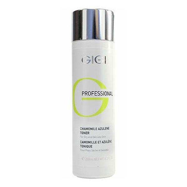 GIGI Азуленовый лосьон-тоник Outserial, 250 мл5606Предназначен для Для всех типов кожи, особенно для раздраженной и сверхчувствительной. Не содержит спирта! Действие: Дополнительно увлажняет и тонизирует кожу, не пересушивая ее. Нормализует обменные процессы в клетках. Обладает успокаивающим, охлаждающим, противовоспалительным и дезинфицирующим действием. Активные ингредиенты: Азулен, экстракт ромашки, мочевина, аллантоин.