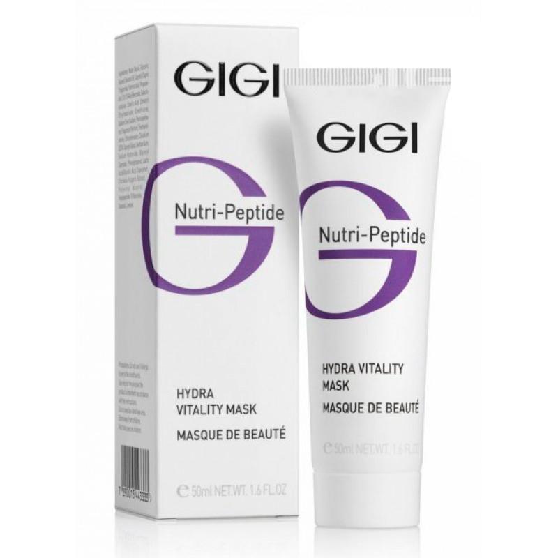 GIGI Пептидная увлажняющая маска красоты Nutri-Peptide Hydra Vitality Beauty Mask, 50 млБ33041_шампунь-барбарис и липа, скраб -черная смородинаПридает коже бархатистость и гладкость, возвращает сияние молодости и здоровья.