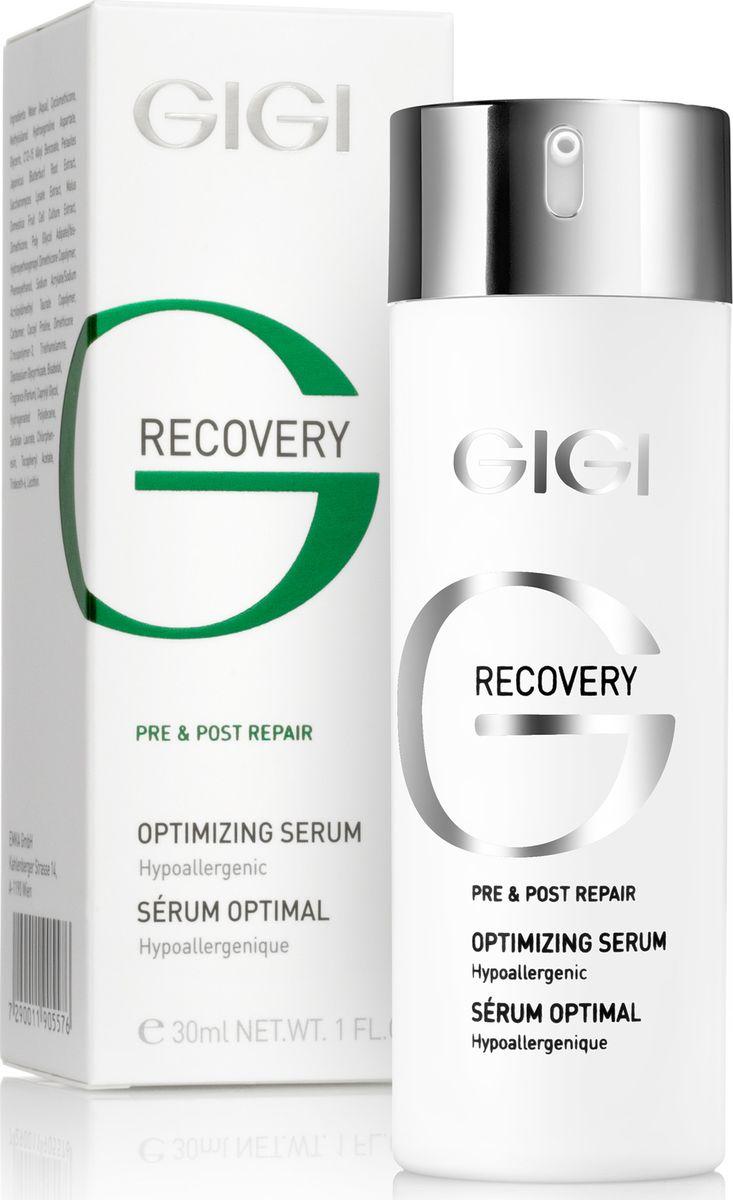 GIGI Оптимизирующая сыворотка Recovery Optimizing Serum, 30 млFS-00103Сыворотка, обогащенная успокаивающими, увлажняющими, антиаллергеными веществами, придающими энергию коже. Ускоряет процесс восстановления кожи, регенерации клеток и процесс выздоровления. Успокаивает и предотвращает покраснение и раздражение. Придает коже сияющий, здоровый вид, чувство комфорта и мягкости. Не содержит консервантов, гипоаллергенна, ароматизаторы 100% без аллергенов.