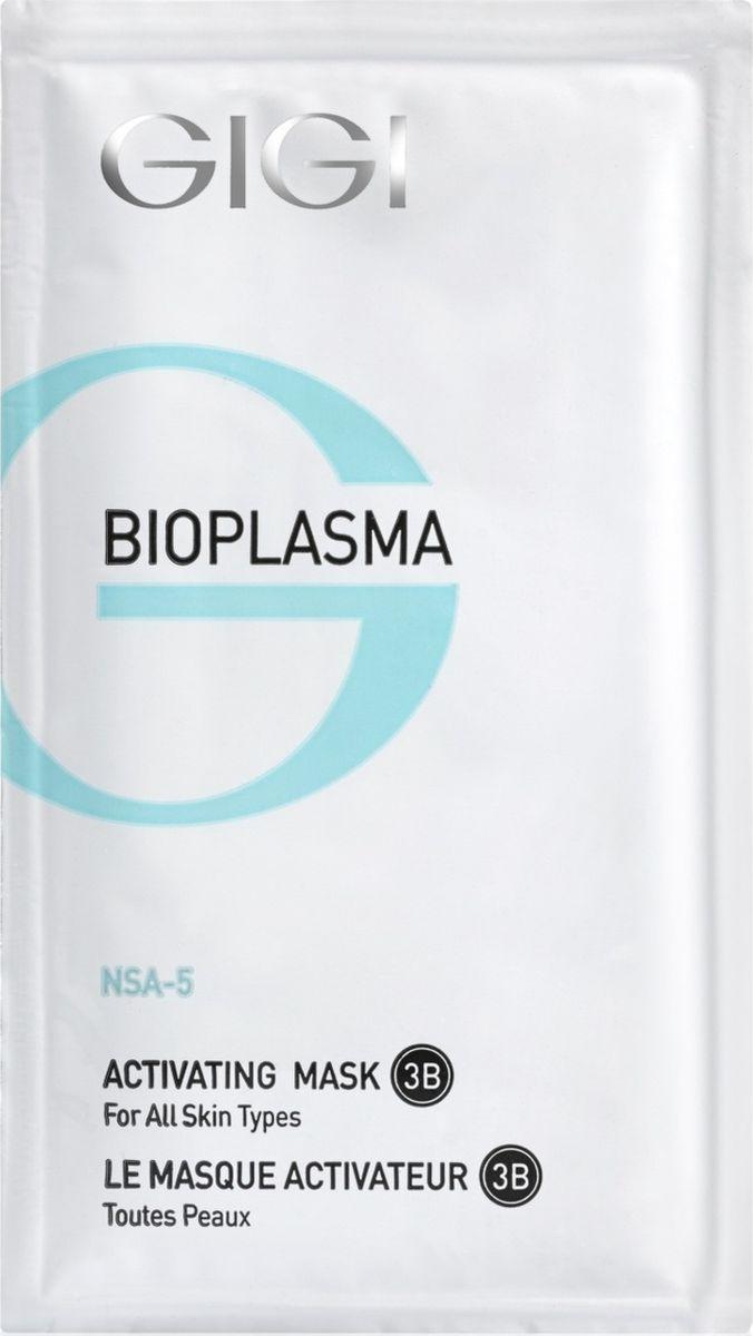 GIGI Активизирующая маска для всех типов кожи Bioplasma Activating Mask, 20 мл, 5 штБ33041_шампунь-барбарис и липа, скраб -черная смородинаБлагодаря высокой концентрации активных ингредиентов, включающих в себя экстракт водорослей и экстракты лекарственных растений, оказывает мощное антиоксидантное действие, легко очищает кожу от отмерших клеток рогового слоя, стимулирует обмен веществ, обогащает клетки кислородом, обладает увлажняющим эффектом. Подходит для Для всех типов кожи. Активные компоненты: Сульфат кальция, кремнезем, диоксид титана, аргинин ферулат, экстракт криспа, экстракт оливкового масла, экстракт планктона, кальприан, ламинарган, кодиблан, токоферола ацетат. Результат: Маска великолепно успокаивает кожу после глубокой чистки лица, осветляет пятна. Ускоряет регенерацию клеток.