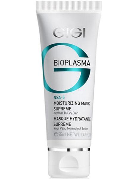 GIGI Маска увлажняющая энергетическая Bioplasma Moisturizing Mask Supreme, 75 млБ33041_шампунь-барбарис и липа, скраб -черная смородинаМаска богатой консистенции увлажняет кожу и сразу же создает комфортное ощущение. Предназначена для интенсивного обновления и увлажнения уставшей, безжизненной кожи. Маска усиливает синтез коллагена, обладает влагу удерживающим свойствами. Нанесенная перед торжественным событием, маска сохранит безупречность овала лица и макияжа в течение длительного времени. Активные компоненты: Масло Ши, экстракт Гаммамелиса, экстракт Криспа, гидроксиэтил мочевина, токоферола ацетат, Сукцинат Кастор, кальприан, ламинарган, кодиблан. Результат: После применения кожа выглядит отдохнувшей, более эластичной и свежей, выравнивается текстура и цвет лица.