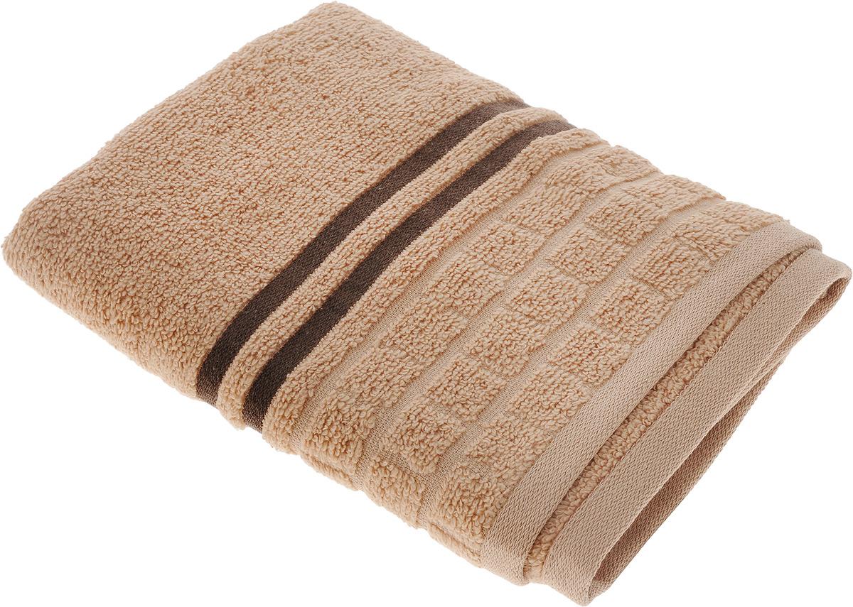 Полотенце махровое Bravo Лана, 50 х 90 смм1009_07Махровое полотенце Bravo Лана выполнено из 100% хлопка. Изделие отлично впитывает влагу, быстро сохнет, сохраняет яркость цвета и не теряет форму даже после многократных стирок. Такое полотенце очень практично и неприхотливо в уходе. Оно украсит интерьер в ванной комнате, а также подарит ощущение заботливой нежности и удивительного комфорта. Рекомендуется стирка при температуре 40°C.