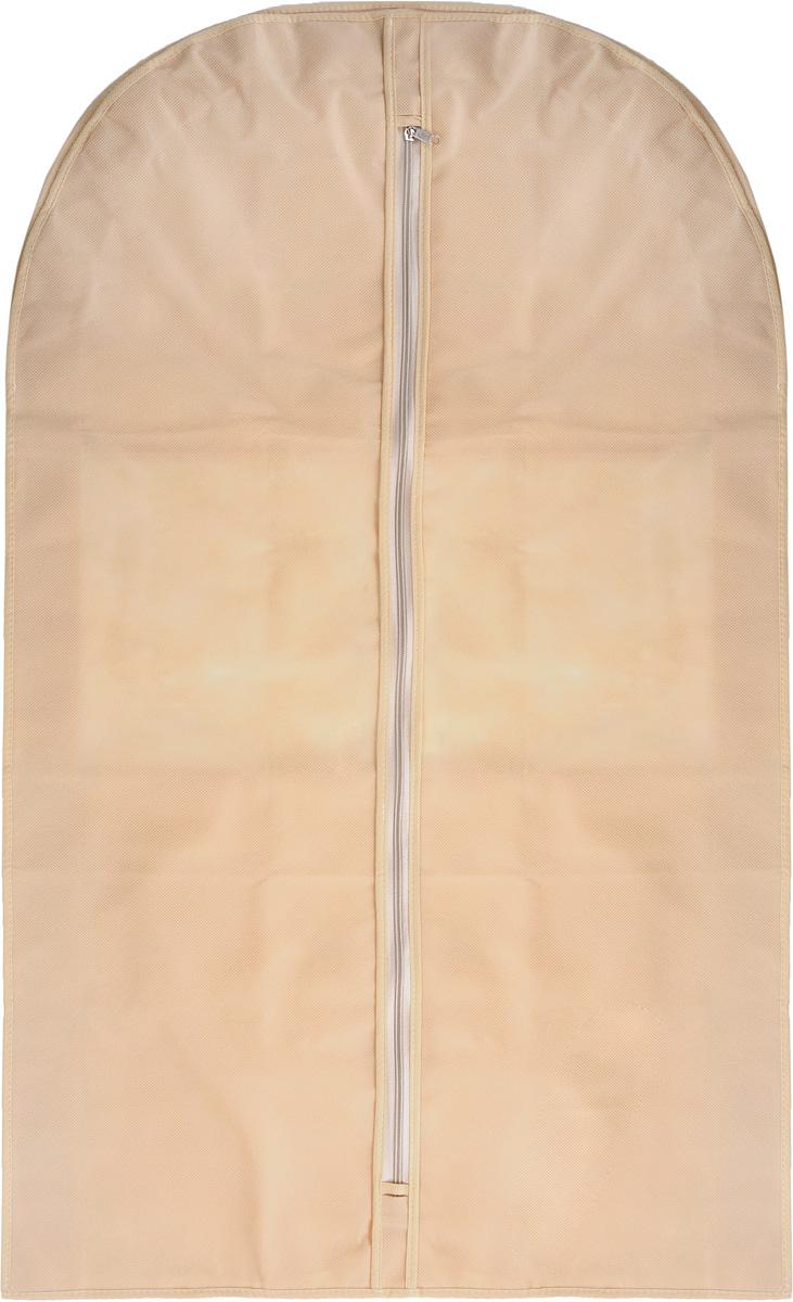 Чехол для костюма Все на местах Minimalistic, цвет: бежевый, 100 х 60 х 10 см1011008.
