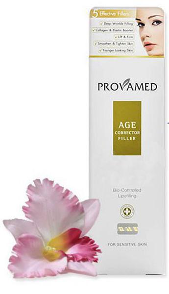 Provamed Антивозрастной корректор морщин (Age Corrector Filler), 30 гр.2263Значительно сокращает возрастные изменения лица, восполняет потерю эластичности кожи. Входящие в состав ингредиенты способны заполнить появившиеся морщины и неровности на коже, выровнять ее в короткий период времени. Adipofill - комплекс с высокой дерматологической активностью (воздействует на глубокие слои кожи) способен бороться с признаками старения и направлен на омоложение кожи. При постоянном применении коллаген и эластин уменьшают проявление выраженных морщин, а также заметно подтягивают и делают кожу моложе. Экстракт Солероса травянистого активизирует в коже синтез Аквапорина 8, что влечет мгновенное увлажнение даже при сильной пересушенности. Экстракт Планктона, обеспечивает пролонгированный эффект лифтинга, действует против морщин - разглаживает мелкие и сокращает более глубокие, устраняет признаки усталости. Экстракт коры пробкового дуба защищает кожу от потери влаги, в комплексе с другими ингредиентами подтягивает кожу, заметно улучшает ее состояние.