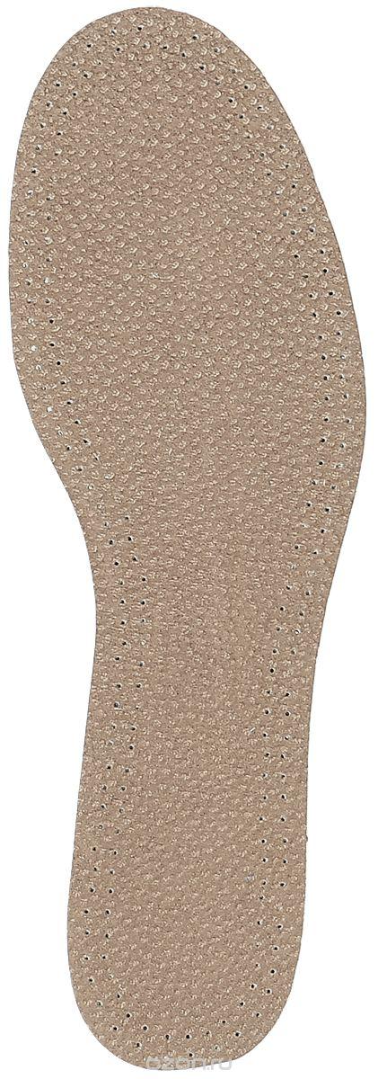 Стелька, OmaKing кожа на пенке из латекса, 44/45SS 4041Кожаные стельки изготовлены из эластичной свиной кожи на подкладке из латекса с содержанием активированного уголя, который помогаетпредотвратить запах, впитывает влагу и создаёт благоприятныймикроклимат для ног.