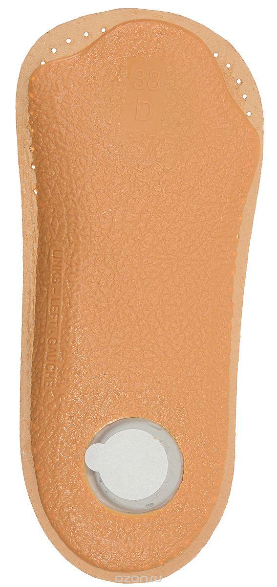Стелька OmaKing, профилактическая, 42/43T420-43Анатомическая полустелька изготовлена из кожи, с применением растительных веществ. Стелька оснащена специальной подушечкой в области опоры стопы, укреплён свод стопы и смягчена пятка стопы. Полустелька удерживает стопу ноги в анатомически правильном положении, благодаря чему Ваши ноги меньше устают.
