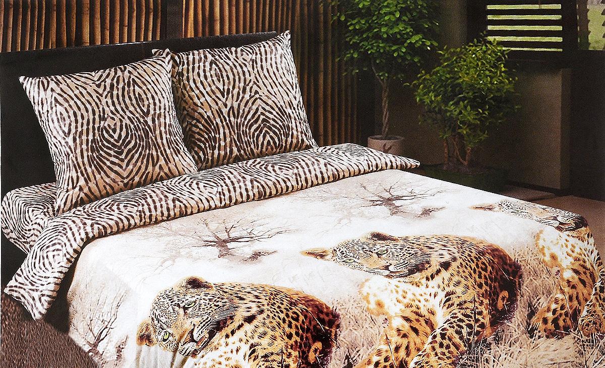 Комплект белья Арт Постель Леопард, 2-спальный, наволочки 70х70904_ЛеопардКомплект постельного белья Арт Постель Леопард является экологически безопасным для всей семьи, так как выполнен из поплина (натурального хлопка). Комплект состоит из пододеяльника, простыни и двух наволочек. Постельное белье оформлено оригинальным рисунком и имеет изысканный внешний вид. Комплекты постельного белья из Поплина отличаются высоким качеством, практичностью в использовании и выразительностью дизайнов Постельное белье из поплина, кроме практичных качеств, красивое и необычайно приятное на ощупь.