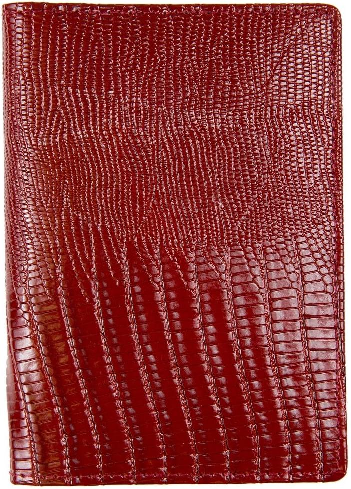 Обложка для паспорта женская Janes Story, цвет: бордовый. K-L-P193-03K-L-P193-03