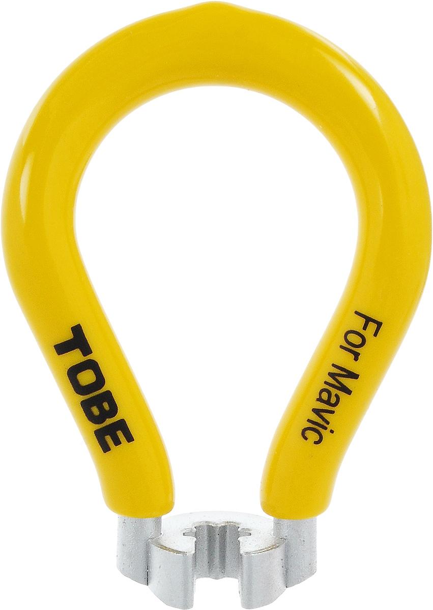 Ключ спицевой To Be, нипель 7 мм. 20652065Для колес и шин B556096 Одноразмерный спицевый ключ из никелированный закаленной стали с виниловым покрытием Особенности: ниппель 7 мм; встроенный, желтый (Mavic®)