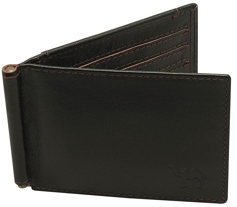 Зажим для купюр мужской Dimanche Сахара, цвет: черный. 769BM8434-58AEУдобный зажим из натуральной кожи, снабжен фиксирующейся в открытом положении скобой для денег, внутри 6 карманов для кредиток/визиток и 2 потайных кармашка. На задней стороне карман для мелочи на кнопке. Упакован в фирменную картонную коробку.