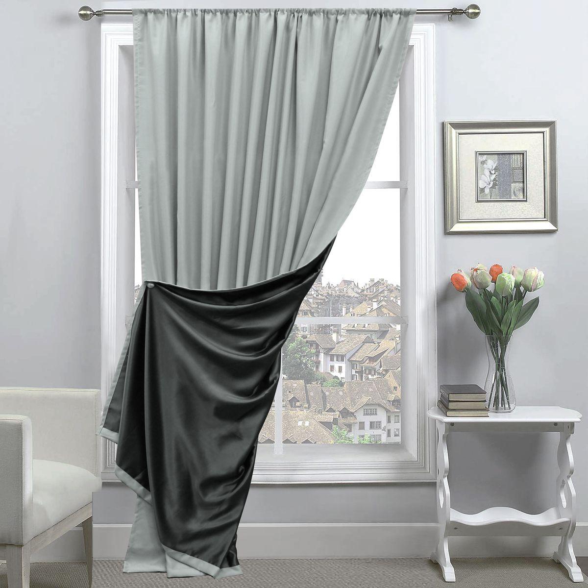 Портьера Amore Mio, 200 х 270 см, 1 шт., серый. 8516685166