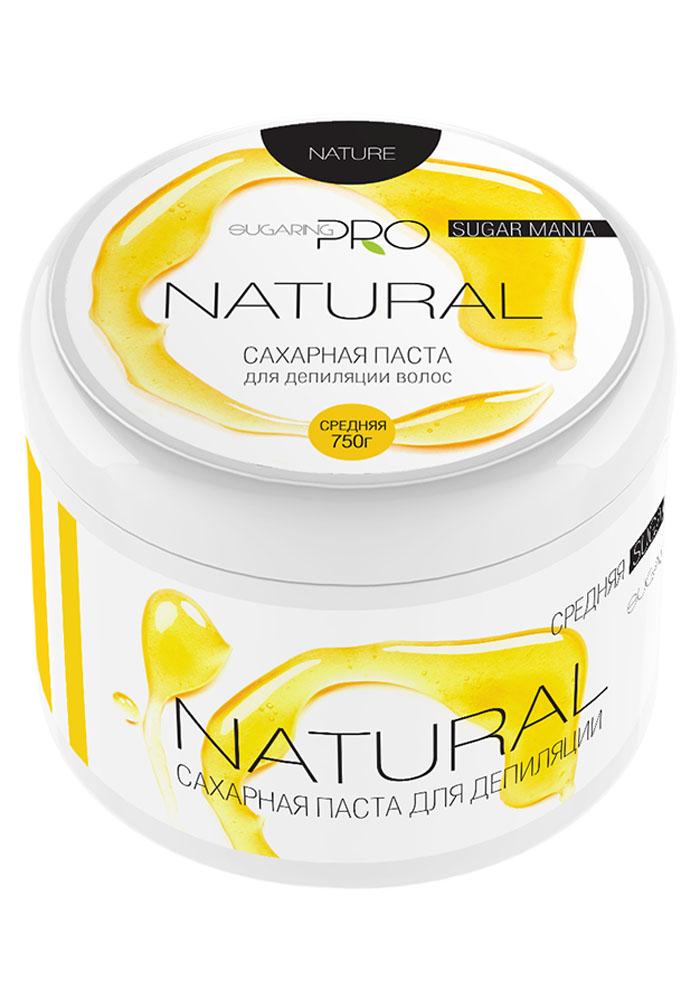 Sugaring Pro Сахарная паста Натуральная средняя плотность, 750 гGESS-131Универсальная паста средней плотности для удаления всех типов волос на любом учсатке тела. Сохраняет живые клетки кожи, удаляя только омертвевшие роговые чешуйки и волосы. Эффекта хватает на 3-4 недели